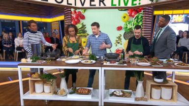 Chef Jamie Oliver Shows Everyone How To Cook Up Simple Five