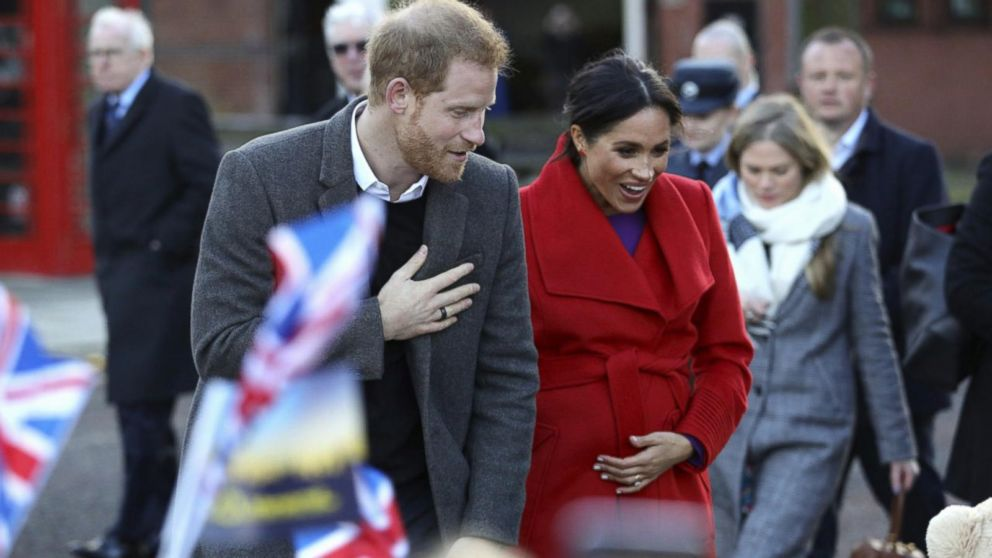Pregnant Meghan Markle gives hint about due date in 1st appearance of 2019 with Prince Harry