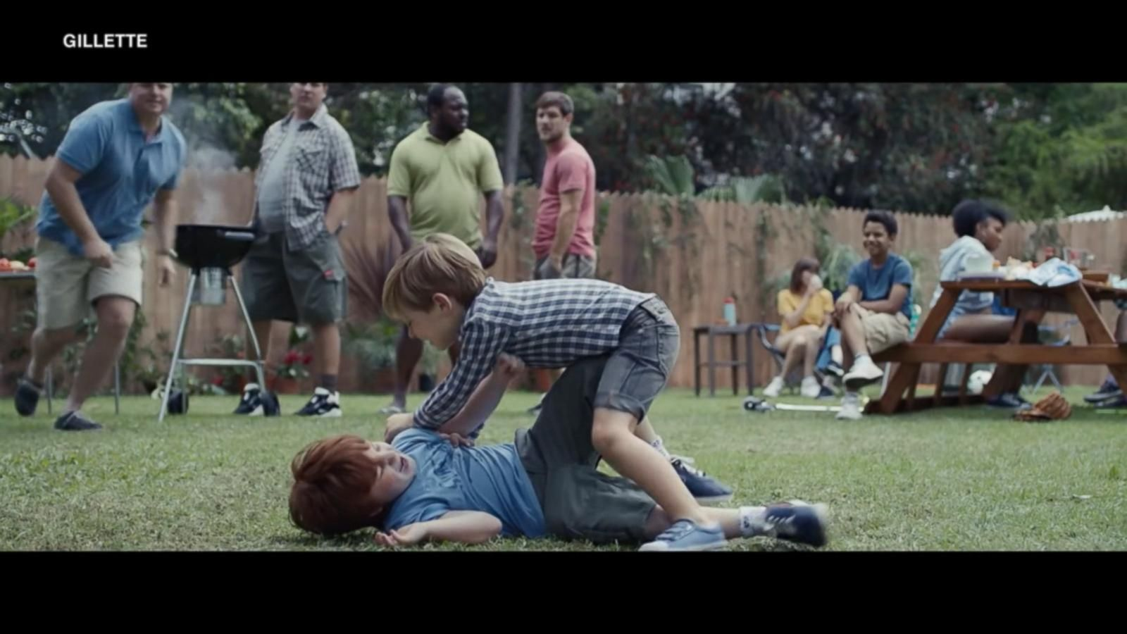 Gillette uses new ad to urge men to get rid of 'toxic