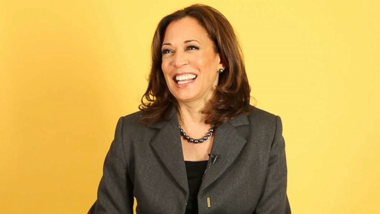 VIDEO: Potential 2020 presidential candidate Kamala Harris shares advice for young women
