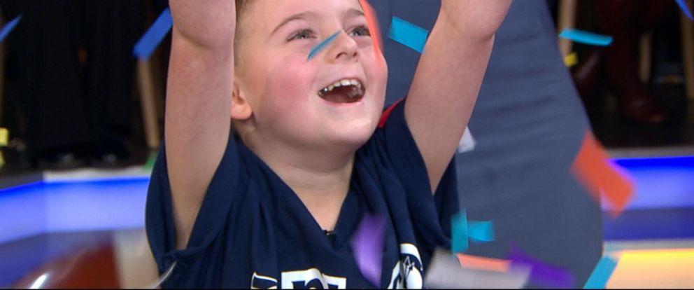 VIDEO: Meet the 2019 NFL Kid Correspondent: 8-year-old Camdyn Clancy