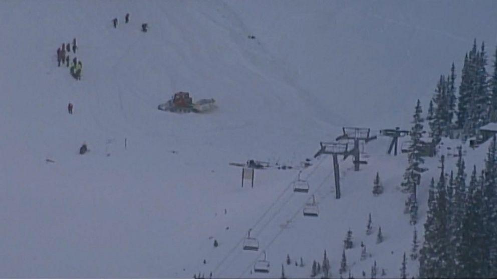 Skier dies after avalanche at top ski resort
