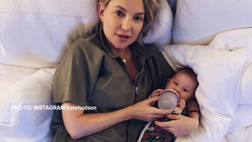 Kate Hudson says she's raising her first daughter