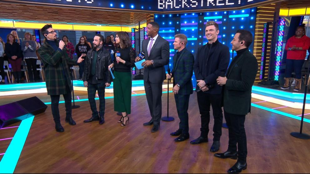 Backstreet Boys' 'DNA' tour kicks off in US: 'We're gonna blow America away'