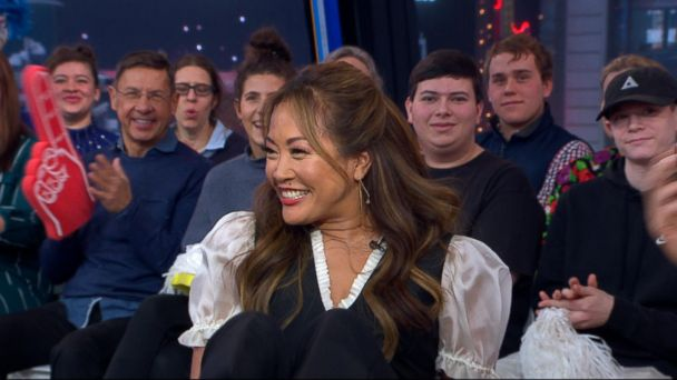 'Dancing with the Stars' Judge Carrie Ann Inaba stops by 'GMA'!