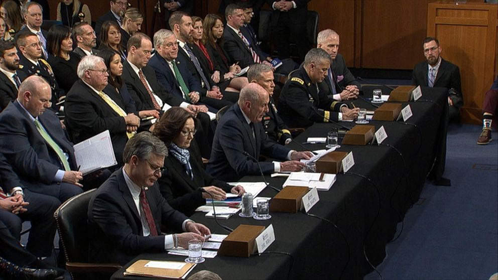 Intel chiefs push back on reports about Trump's intelligence briefings