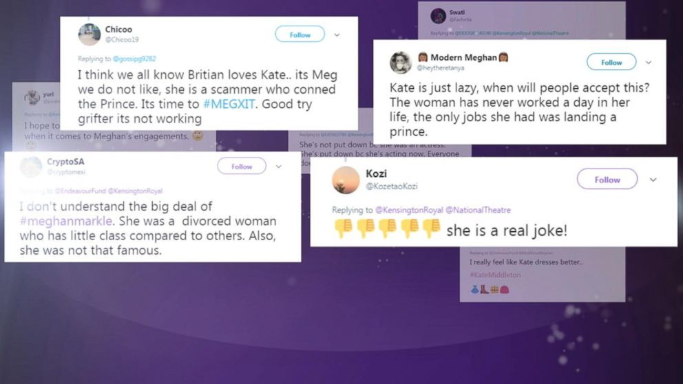 New calls issued for end to social media abuse of Duchesses Kate, Meghan