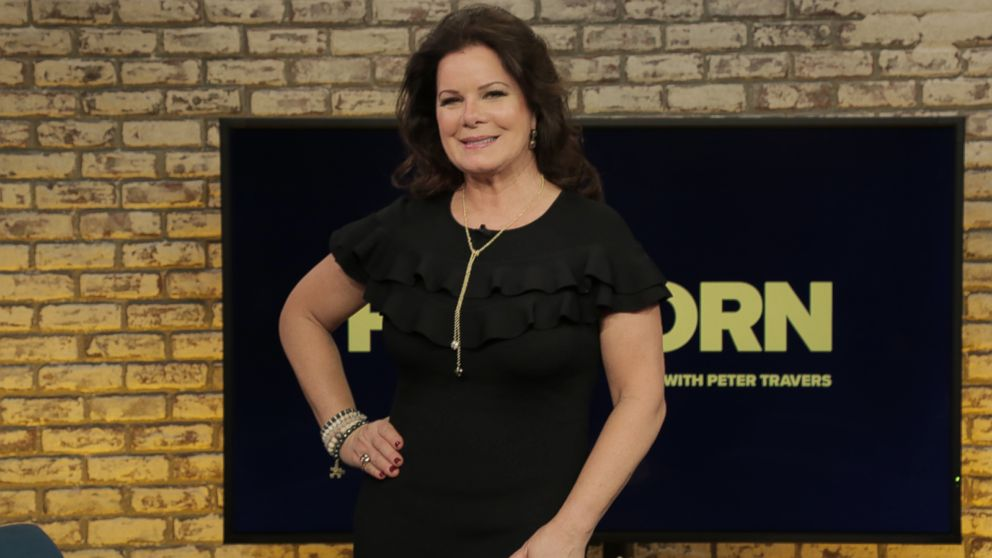 Marcia Gay Harden lets her makeup artist son use her face to practice