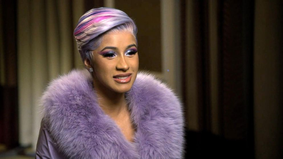Cardi B Unveils Her Entire Back Tattoo With Bright Pink: Cardi B Talks Motherhood, Relationships And Why She Turned