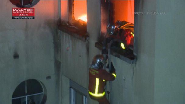 Paris apartment fire kills 8, injures dozens