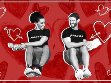 WATCH: Grab your partner and try this Valentine's Day couples workout
