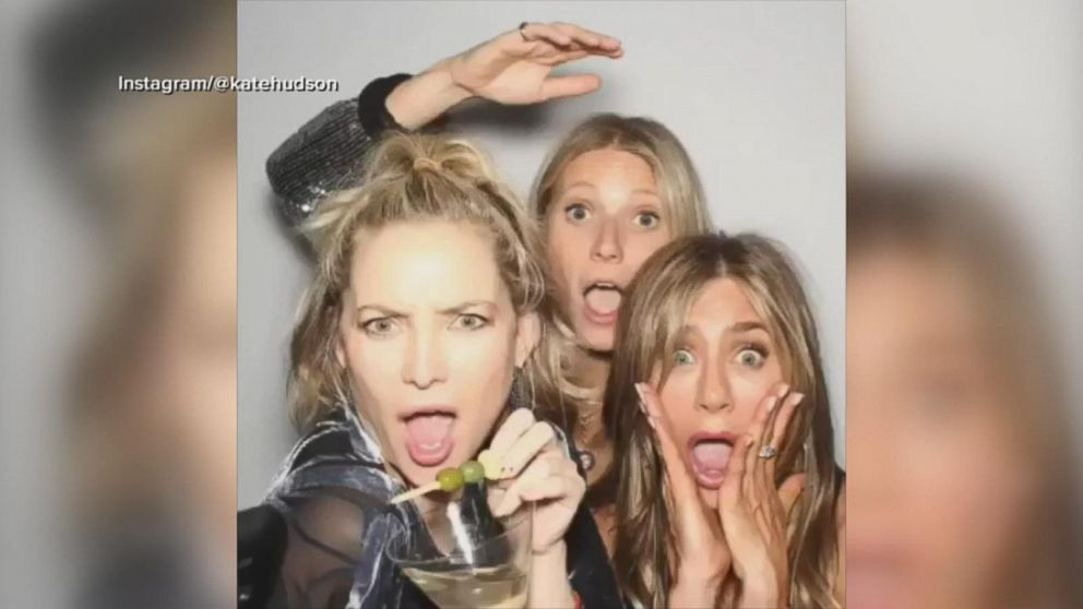 Jennifer Aniston celebrates her 50th birthday with friends and ex-husband  Brad Pitt