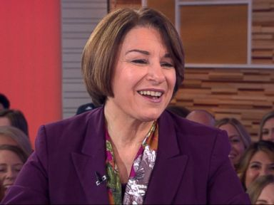 WATCH:  Sen. Amy Klobuchar opens up about her 2020 campaign