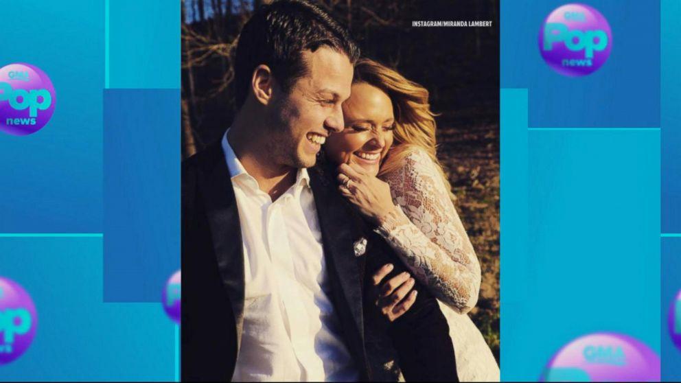 f91f6e80d Miranda Lambert reveals secret marriage Video - ABC News