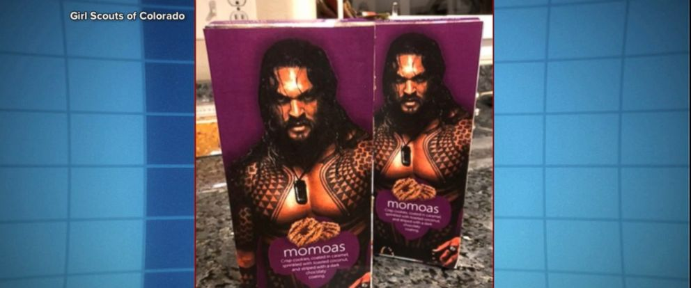 """VIDEO: Charlotte Holmberg is using the """"Aquaman"""" star to help boost cookie sales."""