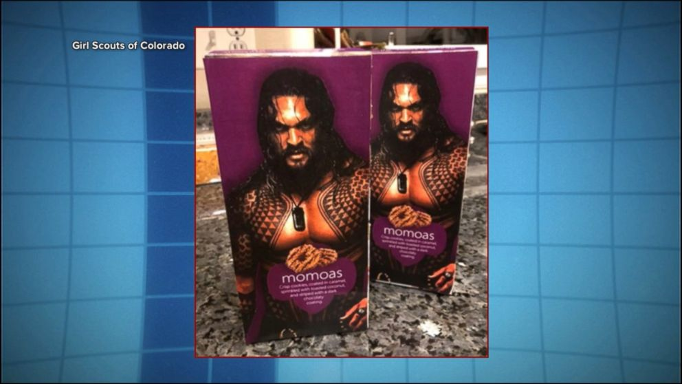 Creative Girl Scout Turns Samoas Into Jason Momoas Named After