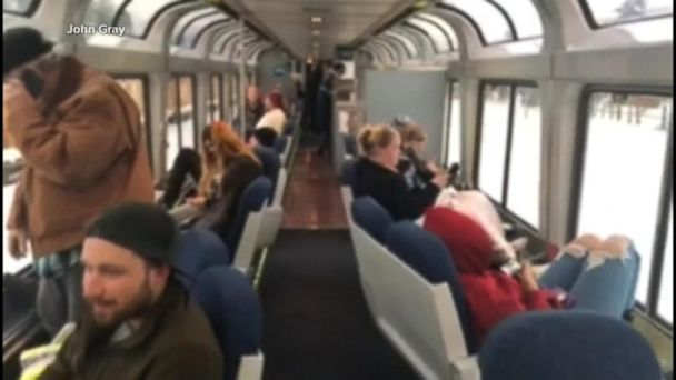 Amtrak train stranded with 183 people aboard
