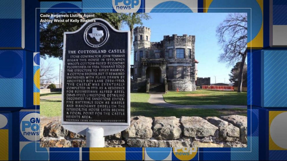 Chip and Joanna Gaines buy historic castle in Waco, Texas