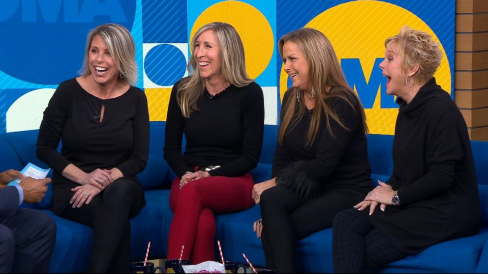 4 long-lost sisters reconnect live on 'GMA'
