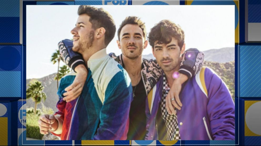 There's a Jonas Brothers movie coming to Amazon Prime and we