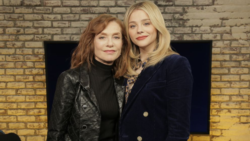 Isabelle Huppert's psycho 'Greta' role scared wits out of co-star Chloe Grace Moretz