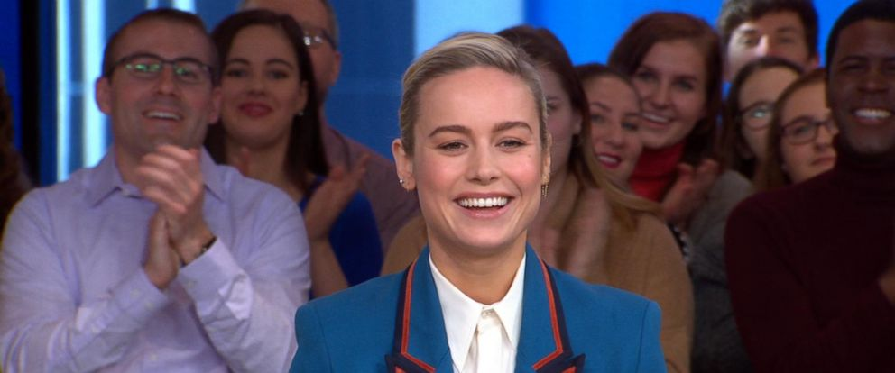 VIDEO: Brie Larson dishes on Captain Marvel