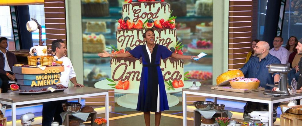 VIDEO: Buddy Valastro and Duff Goldman compete in a cake-off on GMA