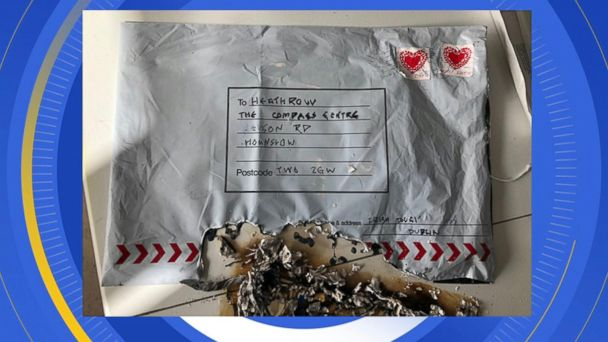 3 IEDs mailed to airports, train station in London