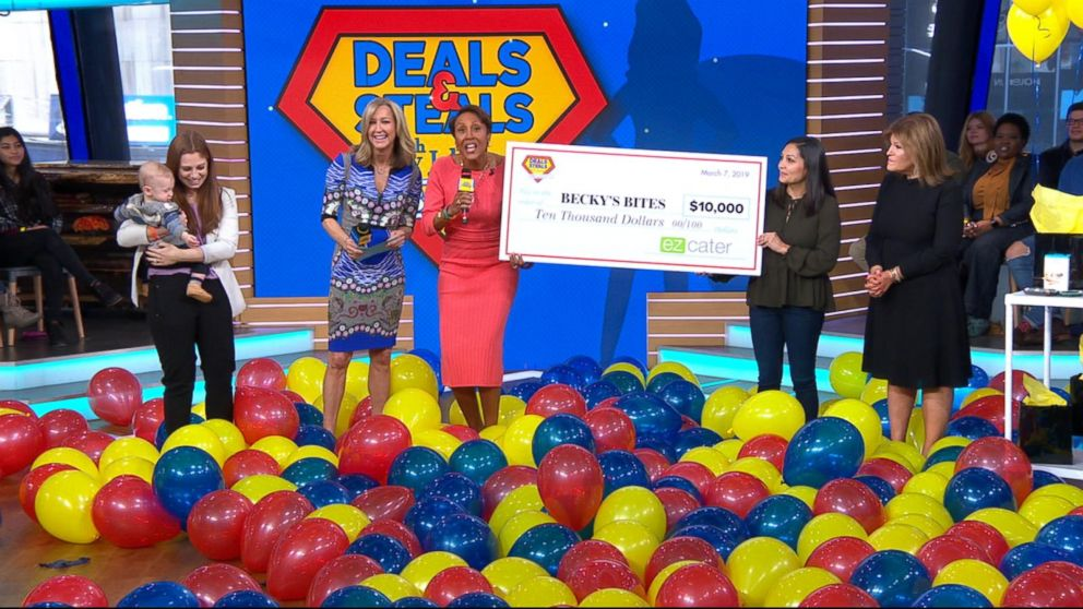 An incredible business owner surprised with a $10K grant on 'GMA'