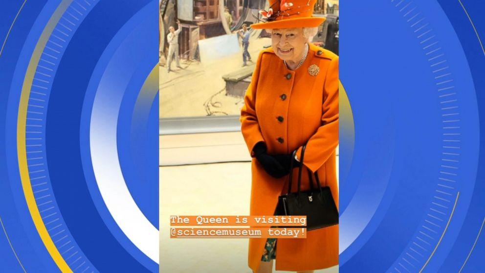 Queen Elizabeth II shares her first Instagram post