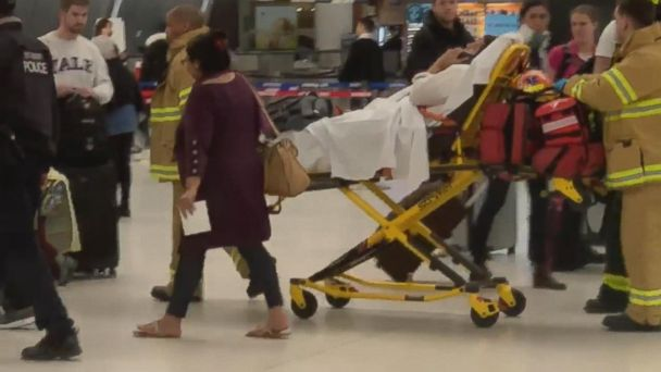 Emergency landing at New York airport due to extreme turbulence