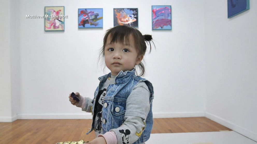 Meet the 2-year-old artist whose paintings are shaking up the art world