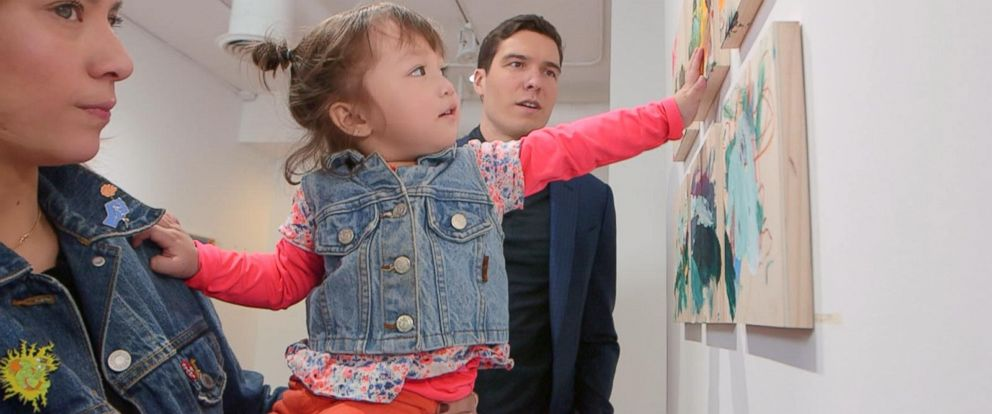 VIDEO: Meet the 2-year-old artist whose paintings are shaking up the art world