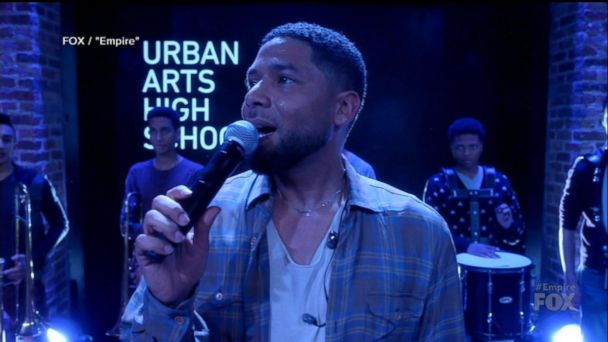 Jussie Smollett appears on 'Empire' ahead of court appearance