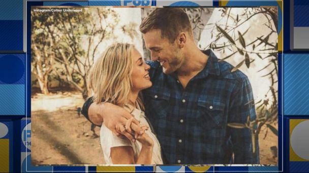 'Bachelor' Colton Underwood spends time with Cassie in her hometown