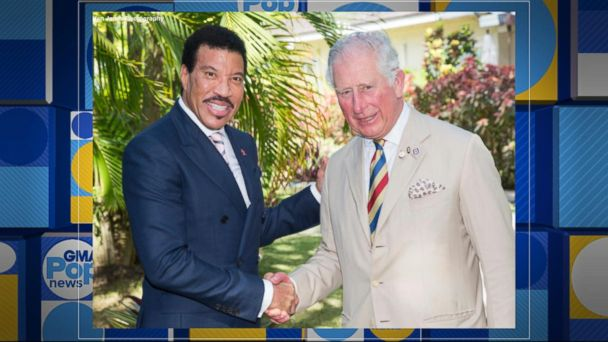 Prince Charles and Lionel Richie join forces