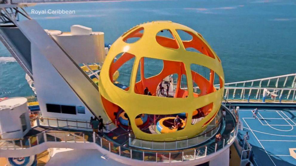 Man describes bungee cord accident aboard cruise ship