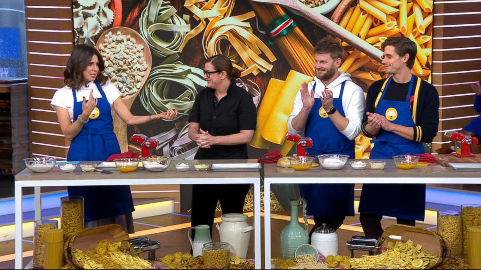 James Beard Award-winning chef Missy Robbins shares her pasta-making secrets
