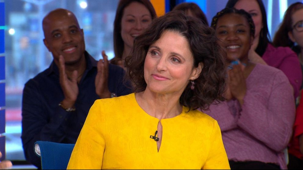 Julia Louis-Dreyfus talks the upcoming final season of 'Veep'