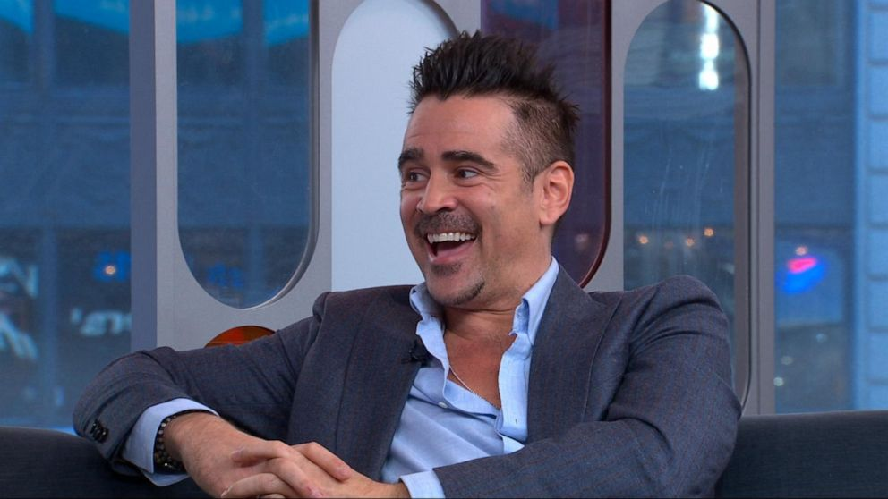 Colin Farrell on Colin Firth, boy bands and 'Dumbo'