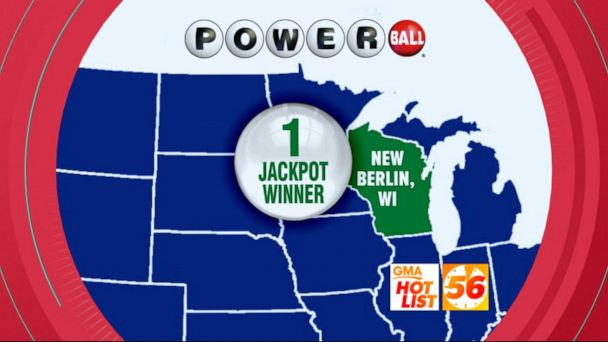 'GMA' Hot List: Winning Powerball ticket was sold in Wisconsin