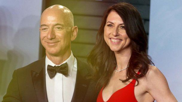 Jeff and MacKenzie Bezos finalize divorce