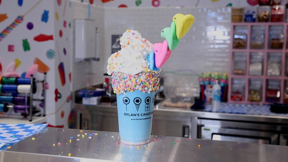 This Peeps milkshake is here to make your Easter sweeter