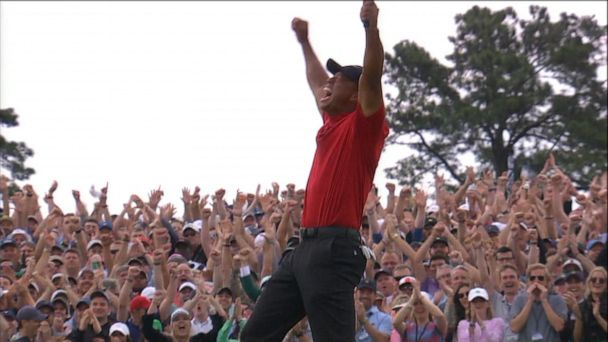 Tiger Woods wins 5th Masters after incredible comeback