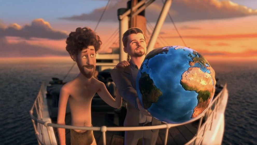 Stars come together in 'Earth' music video