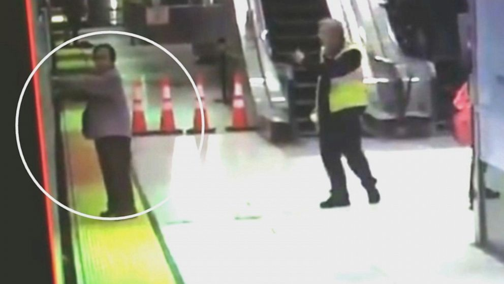 Teen Gets Caught Getting Train