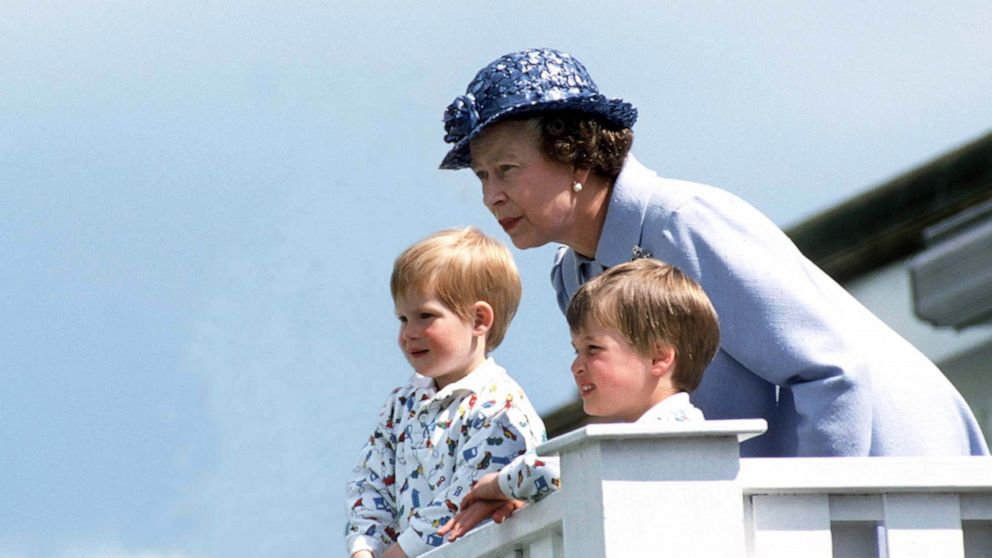Grandma goals: A look at Queen Elizabeth II with her grandkids and great-grandchildren