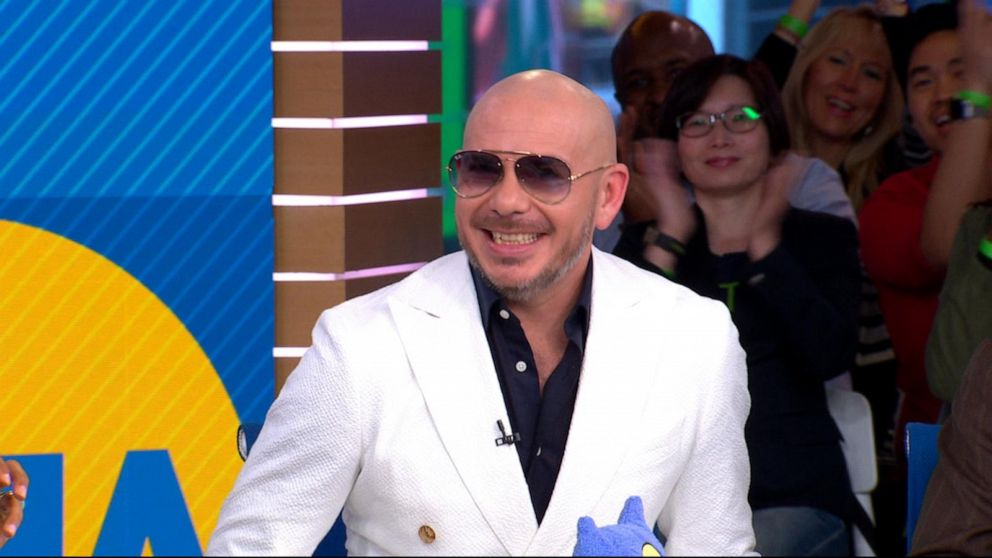 Pitbull opens up about his latest projects live on 'GMA'