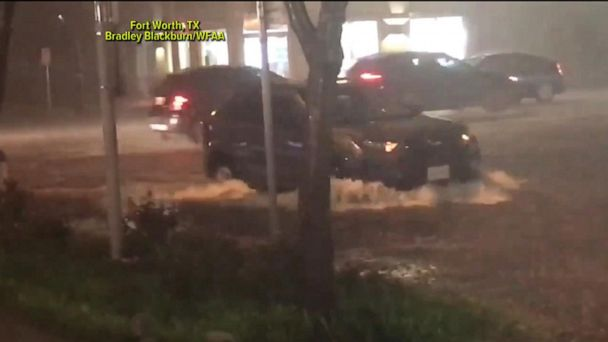 Severe storms flood areas across the US