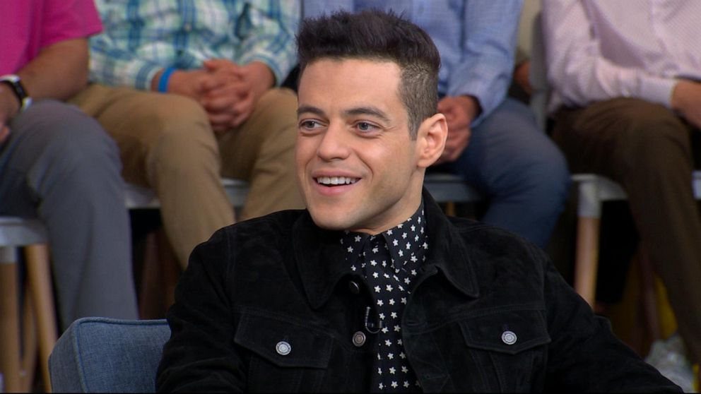 cheap for discount 1fe39 6fbf6 Meet the new villain from  Bond 25  - Rami Malek live on GMA!